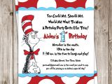 Dr Seuss Baby Shower Invitation Template Party Invitations How to Make Dr Seuss Party Invitations