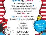 Dr Seuss Baby Shower Invitations Diy Dr Seuss Baby Shower Invitation Diy Invitation Dr by