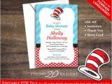 Dr Seuss Baby Shower Invitations Diy Dr Seuss themed Baby Shower Baby Shower Ideas themes