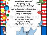 Dr Seuss Baby Shower Invitations Etsy Dr Seuss Baby Shower Invitation by Invitesbysandi On Etsy