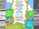 Dr Seuss Baby Shower Invitations Etsy Dr Seuss Baby Shower Invitations Etsy