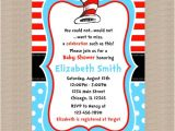 Dr Seuss Baby Shower Invitations Target Dr Seuss Baby Shower Invitation Dr Seuss Blue Polka by