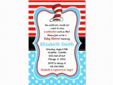 Dr Seuss Baby Shower Invitations Target Dr Seuss Baby Shower Invitation Dr Seuss Blue Polka