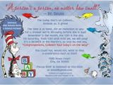 Dr Seuss Baby Shower Invitations Target Dr Seuss Birth Announcement Card Baby Shower Invitation