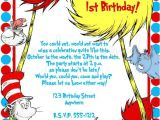 Dr Seuss Birthday Invitations Photo Dr Seuss Birthday Invitation by Lovelifeinvites On Etsy