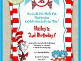 Dr Seuss Birthday Invitations Photo Dr Seuss Party Invitations theruntime Com