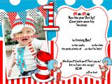 Dr Seuss Birthday Invitations Photo Free Printable Dr Seuss 1st Birthday Invitation Template