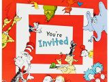 Dr Seuss First Birthday Invitations Dr Seuss 1st Birthday Invitations