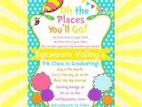 Dr Seuss Graduation Invitations the Places You 39 Ll Go 5×7 Diy Printable Graduation