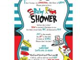 Dr Seuss themed Baby Shower Invitations Dr Seuss Baby Shower Invitations