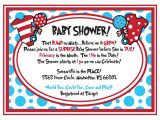 Dr Seuss themed Baby Shower Invitations Dr Seuss Baby Shower Invitations Printable Free