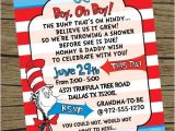 Dr Seuss themed Baby Shower Invitations Dr Seuss theme It S A Boy Baby Shower Invitation On Etsy