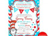 Dr Suess Baby Shower Invitation Printable Dr Seuss Baby Shower Invitations for E Baby