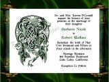 Dragon Wedding Invitations Dragon Invitation Rsvp Celtic Dragon Wedding Invitation