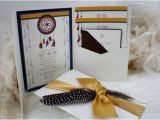 Dreamcatcher Wedding Invitations Dreamcatcher Wedding Invitation Suite Tribal Aztec