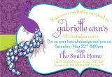 Dress Code Wording for Party Invitations Birthday Invitations Tween Birthday Party Invitations