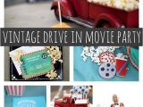 Drive In Movie Birthday Party Invitations Vintage Drive In Movie Party Pretty My Party