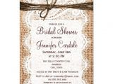 Drop In Bridal Shower Invitation Wording 25 Best Ideas About Burlap Bridal Showers On Pinterest