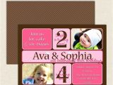 Dual Graduation Party Invitations Dual Birthday Party Invitations Lil 39 Sprout Greetings