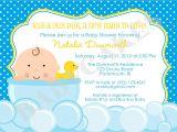 Duck Baby Shower Invitation Templates Design Rubber Ducky Baby Shower Invitations
