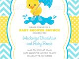 Duck Baby Shower Invitations Boy Little Duck Baby Shower Invitation U Print 4 to Choose