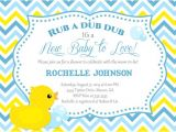 Duck Baby Shower Invitations Boy Rubber Duck Baby Shower Invitation Duck Printable