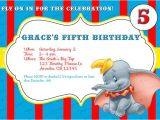 Dumbo Birthday Party Invitations Custom Dumbo Birthday Invitations by Irrelephantdesigns On