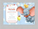 Dumbo Birthday Party Invitations Dumbo Birthday Invitation by Designsbycassiecm On Etsy
