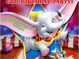Dumbo Birthday Party Invitations Dumbo Birthday Party Invitations Favor Circus Elephant