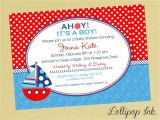 E Cards Baby Shower Invitations Nautical Baby Shower Invitations Egreeting Ecards