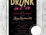 E Invites Bachelorette Party Beyonce themed Bachelorette Invitation Drunk In Love