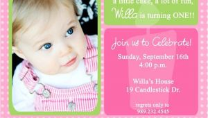 E Invites for First Birthday 1st Birthday Invitations Birthday Photos Birthdays and