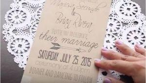 Easy Wedding Invitation Ideas Diy 19 Easy to Make Wedding Invitation Ideas 2493359