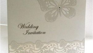 Ebay Wedding Invitations Lace Wedding Invitations Ebay
