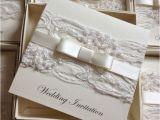 Ebay Wedding Invitations New Personalised Handmade Luxury Vintage Lace Bespoke