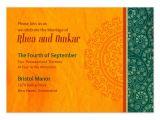 Ecards for Wedding Invitation Indian orange Flair Indian Wedding Invitations Cards On Pingg Com