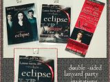 Eclipse Party Invitations isa Creative Musings Twilight Eclipse Lanyard Birthday