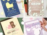 Eco Friendly Baby Shower Invitations New Plantable Products for Eco Friendly Baby Showers