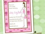 Eco Friendly Baby Shower Invitations Pregnant Fashionista Eco Friendly Baby Shower Invitation