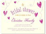 Eco Friendly Bridal Shower Invitations Eco Friendly Bridal Shower Invitations Scattered Hearts
