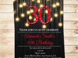 Editable 30th Birthday Invitations Instant Download Printable 30th Birthday Invitations