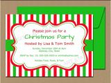 Editable Holiday Party Invitation Christmas Invitation Template Editable Xmas by Digitalartstar