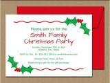 Editable Holiday Party Invitation Editable Christmas Party Invitation Christmas by
