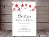 Editable Holiday Party Invitation Editable Holiday Invitations Printabell Create