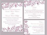 Editable Wedding Invitation Templates Diy Wedding Invitation Template orderecigsjuice Info