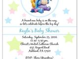 Eeyore Baby Shower Invitations Baby Shower Invitations