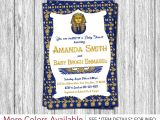 Egyptian Party Invitations Egyptian Baby Shower Invitation Egyptian theme Invitation