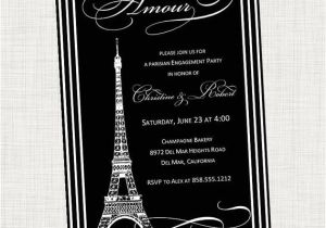 Eiffel tower Bridal Shower Invitations Paris Eiffel tower Bridal Shower Invitation by Invitinginvites