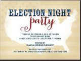Election Party Invitations Election Night Party Party Invitations and Night Parties