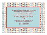 Election Party Invitations Vote Vote Vote Election Party Invitation Zazzle